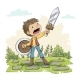 Young Man With Sword - GraphicRiver Item for Sale