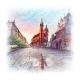 Main Market Square Krakow Poland - GraphicRiver Item for Sale