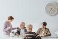 Senior people eating together - PhotoDune Item for Sale