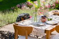 Dining hall in the garden - PhotoDune Item for Sale