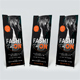 Fashion Extreme Party Roll-Up Banner - GraphicRiver Item for Sale