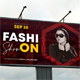 Fashion Show Outdoor Banner - GraphicRiver Item for Sale