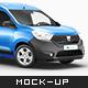 Dacia Dokker Mockup - GraphicRiver Item for Sale