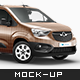 Opel Combo Delivery Car Mockup - GraphicRiver Item for Sale