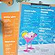 Bar Drinks Menu - GraphicRiver Item for Sale