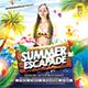 Summer Escapade Flyer/Poster - GraphicRiver Item for Sale