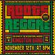 Reggae Music Flyer Template V4 - GraphicRiver Item for Sale