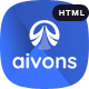 Aivons - Business Consulting HTML Template - ThemeForest Item for Sale