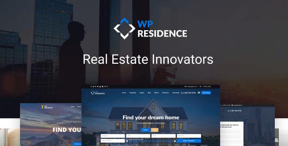 WPresidence Theme for Real estate