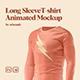 Long Sleeve T-shirt Animated Mockup - GraphicRiver Item for Sale