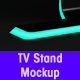 TV Stand Presentation Mockup - GraphicRiver Item for Sale