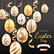 Happy Easter Day Background Design - GraphicRiver Item for Sale