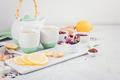 Healthy herbal tea with lemon and ginger. Antioxidant, detox, refreshing drink idea - PhotoDune Item for Sale