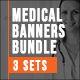 Medical Healthcare Banners Bundle - GraphicRiver Item for Sale