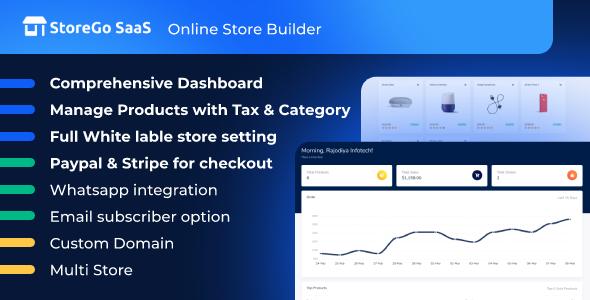 StoreGo SaaS - Online Store Builder