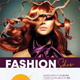 Fashion Show Party Poster V2 - GraphicRiver Item for Sale