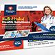 Health & Medical Doctors Postcard - GraphicRiver Item for Sale