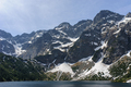 Morskie Oko lake (Eye of the Sea) at Tatra National Park near Zakopane city in Poland - PhotoDune Item for Sale