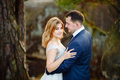 Bride and groom. Close-up. The couple is hugging. - PhotoDune Item for Sale