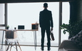 business space for working from home in the concept of social distancing - PhotoDune Item for Sale