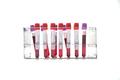 coronavirus COVID-19 sample blood test in test-tube, isolated on white background - PhotoDune Item for Sale