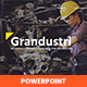 Grandustri – Industrial & Construction Manufacture PowerPoint Template - GraphicRiver Item for Sale