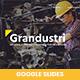 Grandustri – Industrial & Construction Manufacture Google Slides Template - GraphicRiver Item for Sale