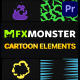 Cartoon And Scribble Elements | Premiere Pro MOGRT - VideoHive Item for Sale