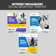 Internet Broadband Social Media Post Banner Template - GraphicRiver Item for Sale
