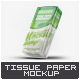 Tissue Paper Handkerchief Mock-Up - GraphicRiver Item for Sale