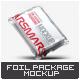 Foil Vacuum Packaging Mock-Up - GraphicRiver Item for Sale