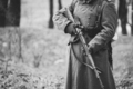 Close up of German military ammunition of a German soldier at World War II. Warm autumn clothes - PhotoDune Item for Sale