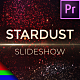 Slideshow Star Dust - Premiere Pro | Mogrt - VideoHive Item for Sale