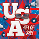 USA 4th Of July Flyer - GraphicRiver Item for Sale