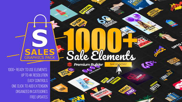 Sales Graphics Pack