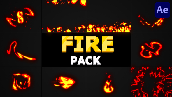Fire Pack   After Effects