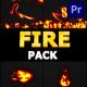 Fire Pack   Premiere Pro MOGRT