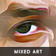 Mixed Art Oil Painting