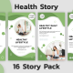 Health Instagram Story Pack - VideoHive Item for Sale
