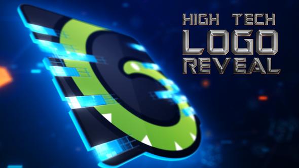 High-Tech Logo Reveal