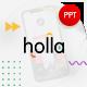Holla Creative Presentation Template - GraphicRiver Item for Sale