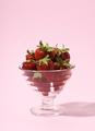 Glass with strawberries - PhotoDune Item for Sale