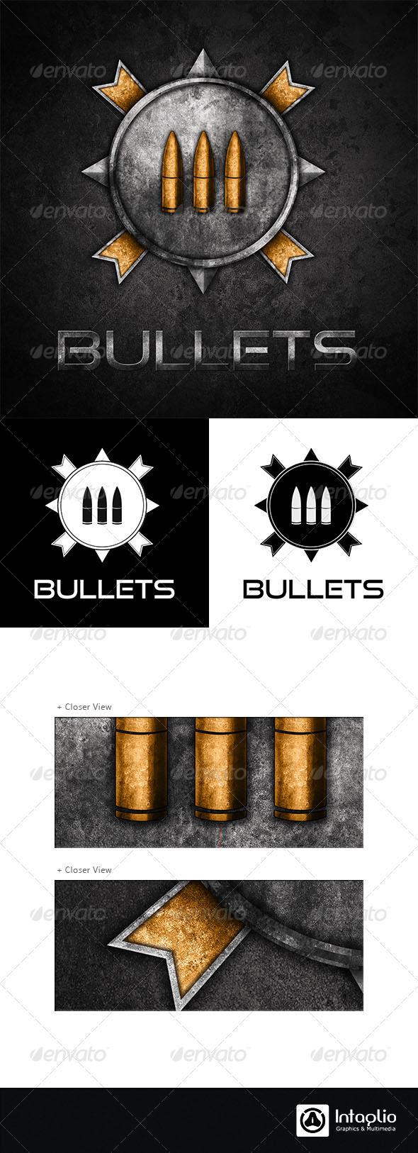 Military / Gaming Logo - Bullets