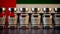 Corona Vaccines / Covid Vaccine Ampules / Vaccination in UAE Flag - PhotoDune Item for Sale