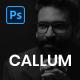 Callum - Personal Portfolio PSD Template - ThemeForest Item for Sale