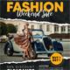 Fashion Sale Flyer V2 - GraphicRiver Item for Sale
