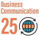 25 Business Communication Flat Line Icons - GraphicRiver Item for Sale