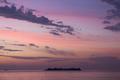 Purple sunset on Río de la Plata from Uruguay - PhotoDune Item for Sale