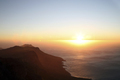 Cape Town's Table Mountain during sunset and Indian Ocean - PhotoDune Item for Sale