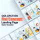 Flat Web Illustration Scenes Pack - GraphicRiver Item for Sale